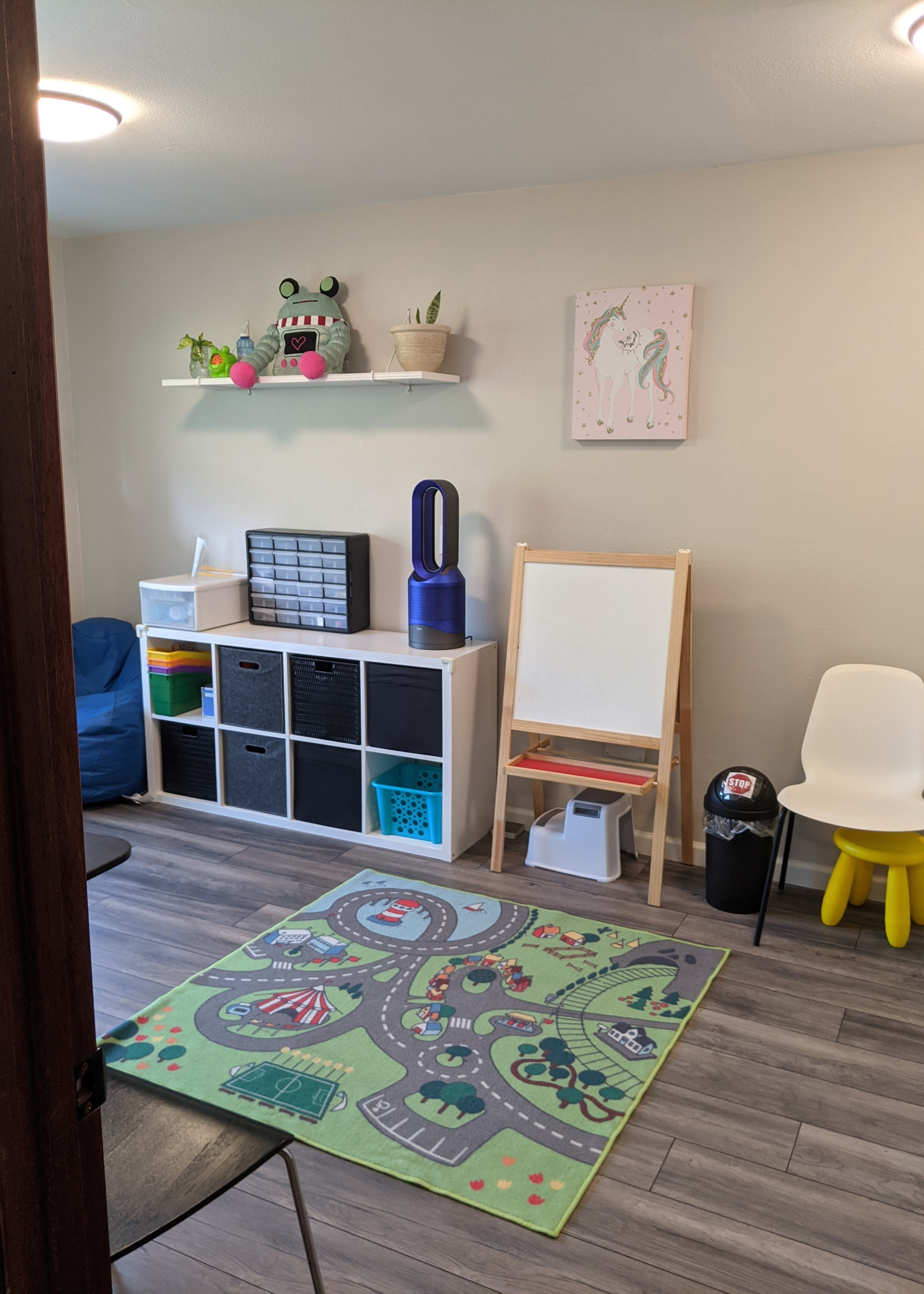 Picture of speech treatment room